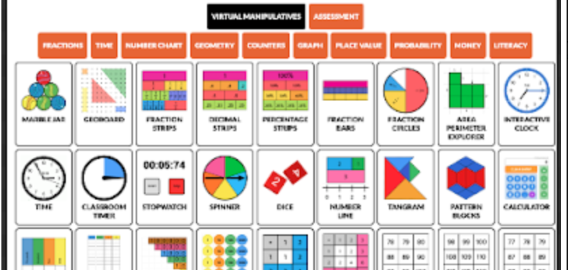 Two Good Websites that Offer Virtual Manipulatives for Teachers and Students