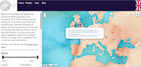 Return to Sender - Interactive Map of Postcards from WWI