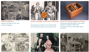 Great Sets of Primary Source Documents for U.S. History Lessons